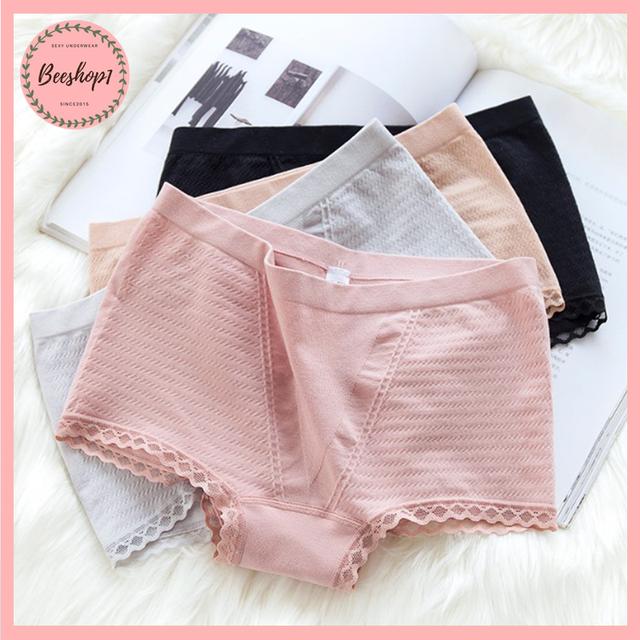 Quần lót nữ, quần mặc trong váy cotton co giãn mềm mịn QC31 | WebRaoVat