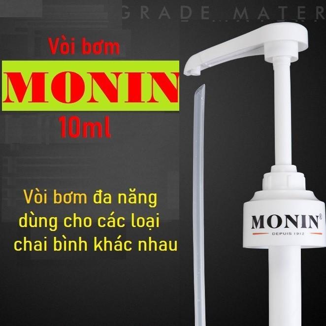 Vòi bơm siro hiệu Monin đa năng (Vừa chai Monin,Maulin can vàng, Maulin 1.3kg, Gifard,Torani, Boduo 2L,Goldenfarm 2L...)