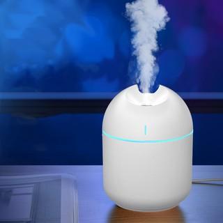 Yêu ThíchMáy tạo độ ẩm mini 220ml sạc USB khuếch tán tinh dầu có đèn led đổi 7 màu cho nhà và văn phòng