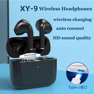 Tai Nghe Không Dây Kết Nối Bluetooth Xy9 Tws Có Đầu Cắm Type-C Cho Điện Thoại Android Iphone