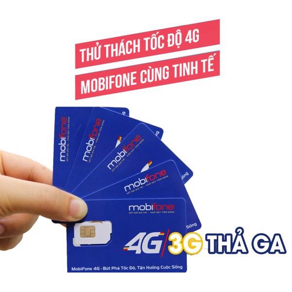 Sim 4G Mobifone C90 – TK 180K - Nghe Gọi Miễn Phí - 2 Tháng Vào Mạng Miễn Phí