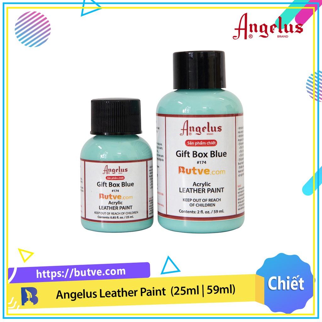 Màu acrylic vẽ da chuyên dụng Angelus Leather Paint - Gift Box Blue (25ml   59ml)