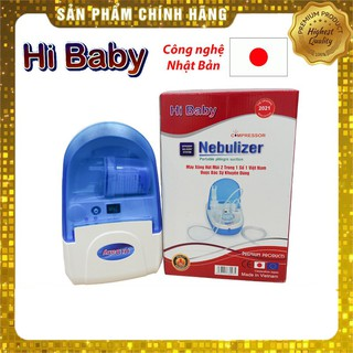 Máy xông hút mũi họng Hi Baby – Máy xông khí dung – hút dịch mũi 2 trong 1