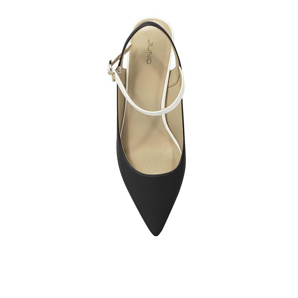 JUNO - Giày cao gót mũi nhọn gót vuông - CG