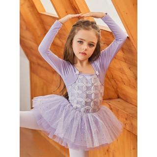 Váy múa ballet dài tay cho bé gái #1972