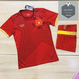 Quần áo bóng đá thun thái cao cấp l1 – Việt Nam Đỏ Sân Nhà 2020
