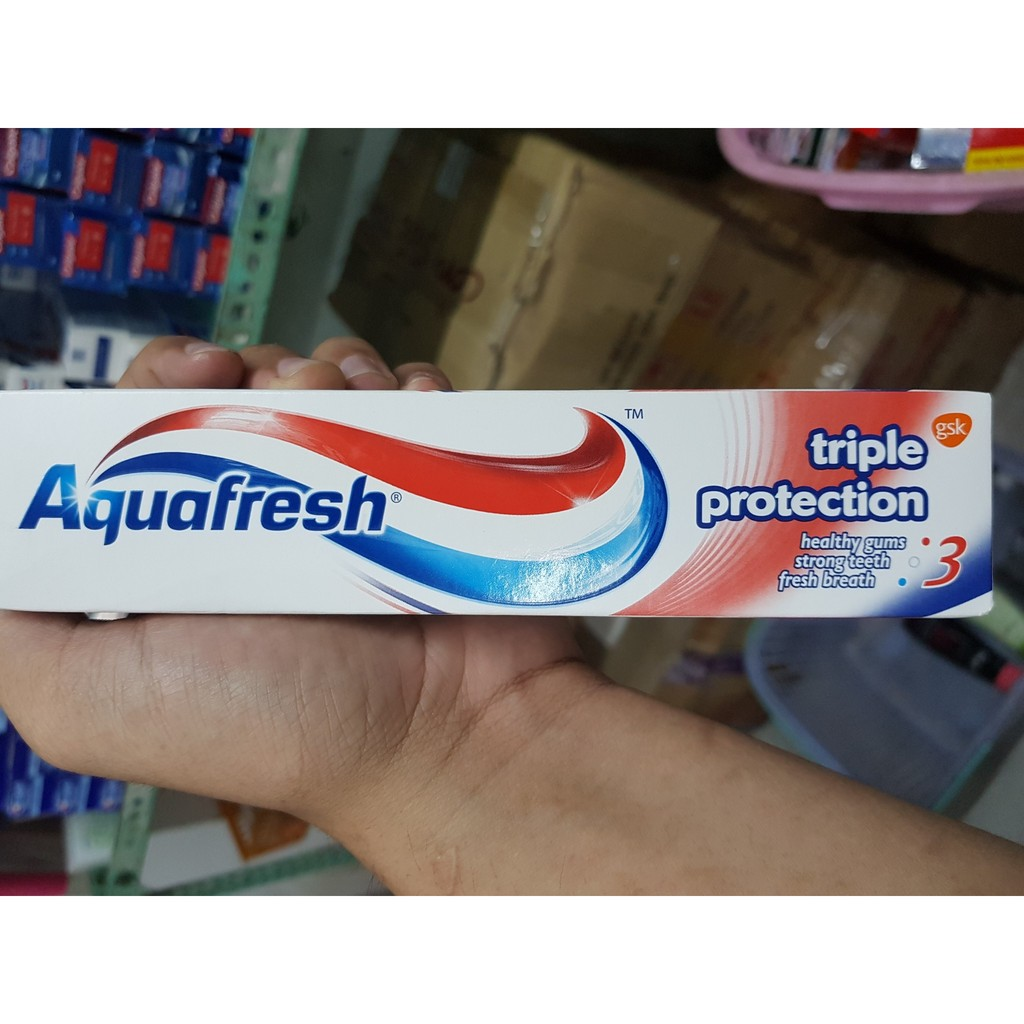 Kem Đánh Răng Aquafresh triple protection 100ml - 2780111 , 349208589 , 322_349208589 , 40000 , Kem-Danh-Rang-Aquafresh-triple-protection-100ml-322_349208589 , shopee.vn , Kem Đánh Răng Aquafresh triple protection 100ml