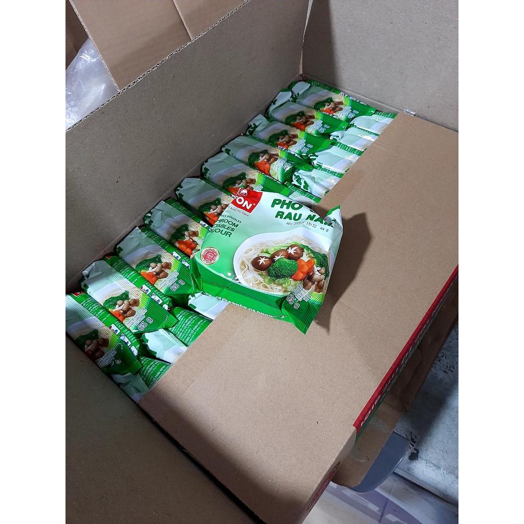 combo 30 gói phở chay rau nấm vifon ( 1 thùng phở chay rau nấm)