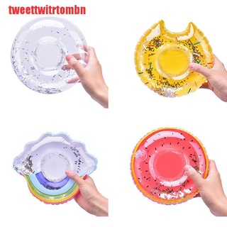 [tweettwitrtombn]Inflatable Water Swimming Pool Drink Cup Stand Beverage Holder Float Party Toy