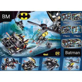 BỘ MÔ HÌNH [LEGO] SIÊU XE, SIÊU MÁY BAY, SIÊU CHIẾN CƠ BATMAN