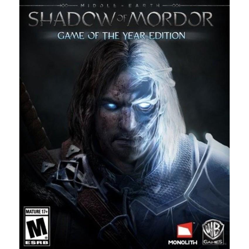 Đĩa game MIDDLE- EARTH : SHADOW OF MODOR dành cho PS4