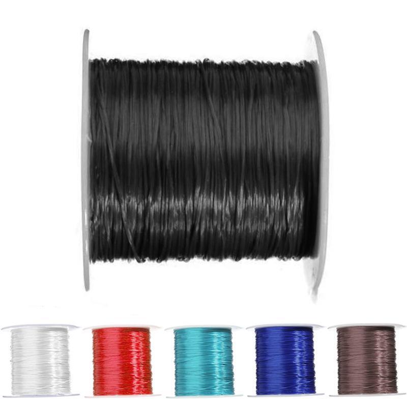 @TL*0.5mm Elastic Stretch String Thread Cord 10M For DIY Creative Bracelet Making