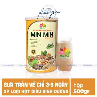 [LỢI SỮA,GIẢM CÂN] Ngũ Cốc Lợi Sữa Min Min, Vừa Lợi Sữa Vừa Giảm, Sữa Vắt Không Kịp Chỉ Từ 3-5 Ngày thumbnail