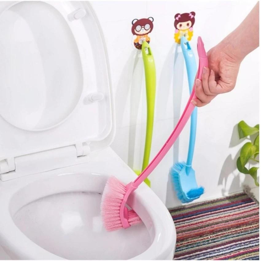 Chổi cọ toilet 2 đầu sạch mọi vi khuẩn