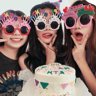 Kính Mắt Vui Vẻ Happy Birthday Trang Trí Tiệc Tùng Ngộ Nghĩnh Độc Đáo