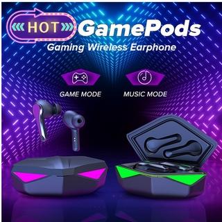 【COD】Q3 Gamepods Chế độ kép Tai nghe chơi game không dây có độ trễ cực thấp cho Pubg@spz