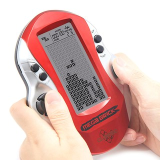 MUL55❤❤ Retro classic handheld led game players with built in 26 games