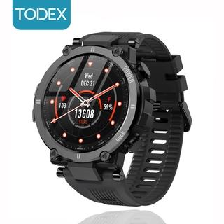 TODEX D13 Smartwatch 2021 Rugged 1.3 Inch HD Screen Call Reminder Waterproof IP68 Original 30days Long Standby For Amazfit T-Rex PK Kospet Raptor