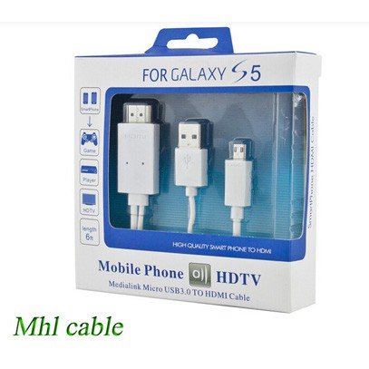 Cáp HDMI kết nối Tivi cho Samsung Galaxy