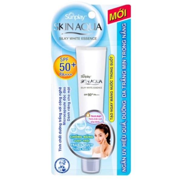 Tinh chất dưỡng trắng Sunplay Skin Aqua 25g