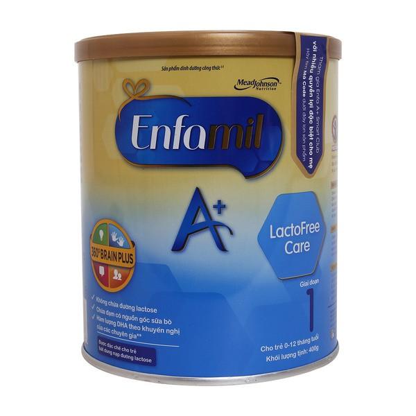 Sữa Bột Enfa Lactose Free Hộp 400g (Cho Trẻ Tiêu Chảy) - 3145507 , 514472402 , 322_514472402 , 235000 , Sua-Bot-Enfa-Lactose-Free-Hop-400g-Cho-Tre-Tieu-Chay-322_514472402 , shopee.vn , Sữa Bột Enfa Lactose Free Hộp 400g (Cho Trẻ Tiêu Chảy)