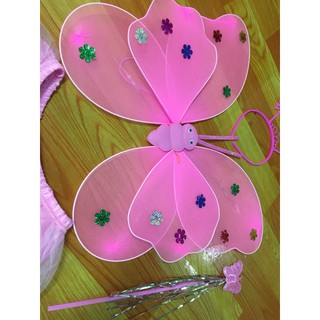 Áo cánh bướm thiên thần đeo sau cho bé