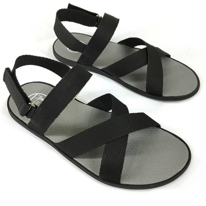 Giày sandal quai chéo thời trang Evest A247