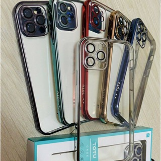 Ốp iphone 12 TOTU viền màu bảo vệ Camera iPhone 12 Mini/ 12/ 12 Pro/ 12 Pro Max Sang trọng