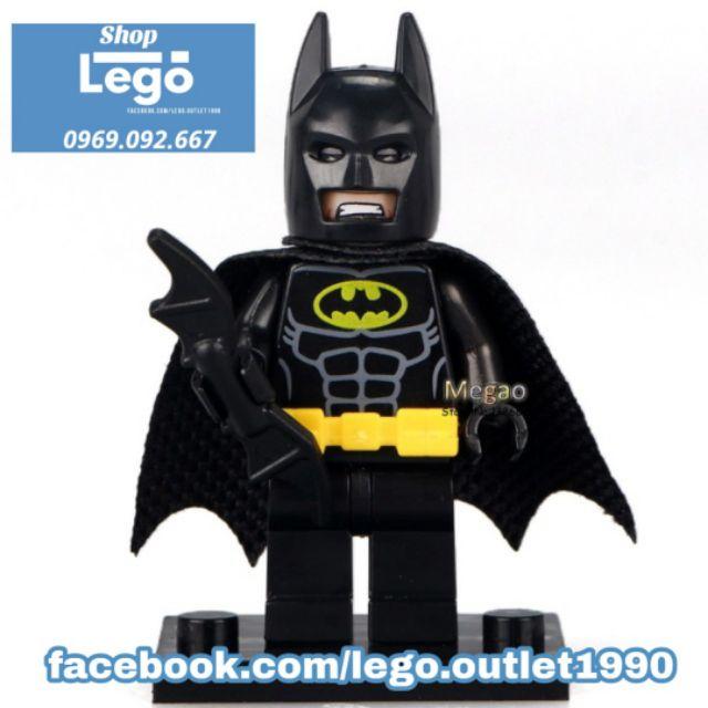 Xếp hình Lego Batman vs Joker Lego Minifigures POGO pg8032