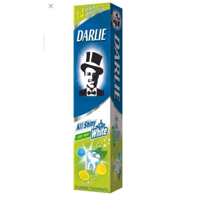 HCM- Kem Đánh Răng Darlie 40gr Trắng Sáng Chanh Bạc Hà hộp mini (40g)