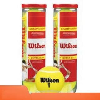 BÓNG TENNIS WILSON ĐỎ 4 QUẢ LON,BANH TENNIS WILSON ĐỎ 4 TRÁI LON- Nhà Phân Phối Chính Hãng- Sport Huế thumbnail