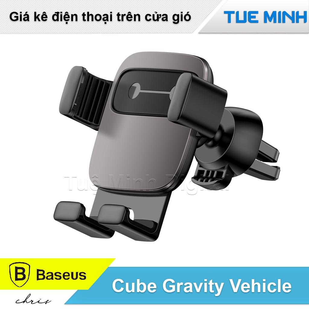 Giá kê điện thoại trên xe hơi - Baseus Cube Gravity Vehicle-Mounted Holder