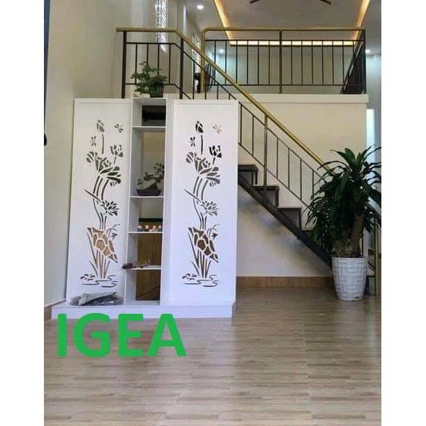 Bình phong Vách ngăn liền kệ IGEA (1 kệ 2 vách) IG494/IG482/IG483