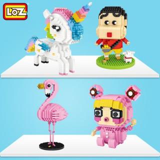 Bộ xếp hình Lego xếp hình mini – nhân vật hoạt hình LOZ NLG11