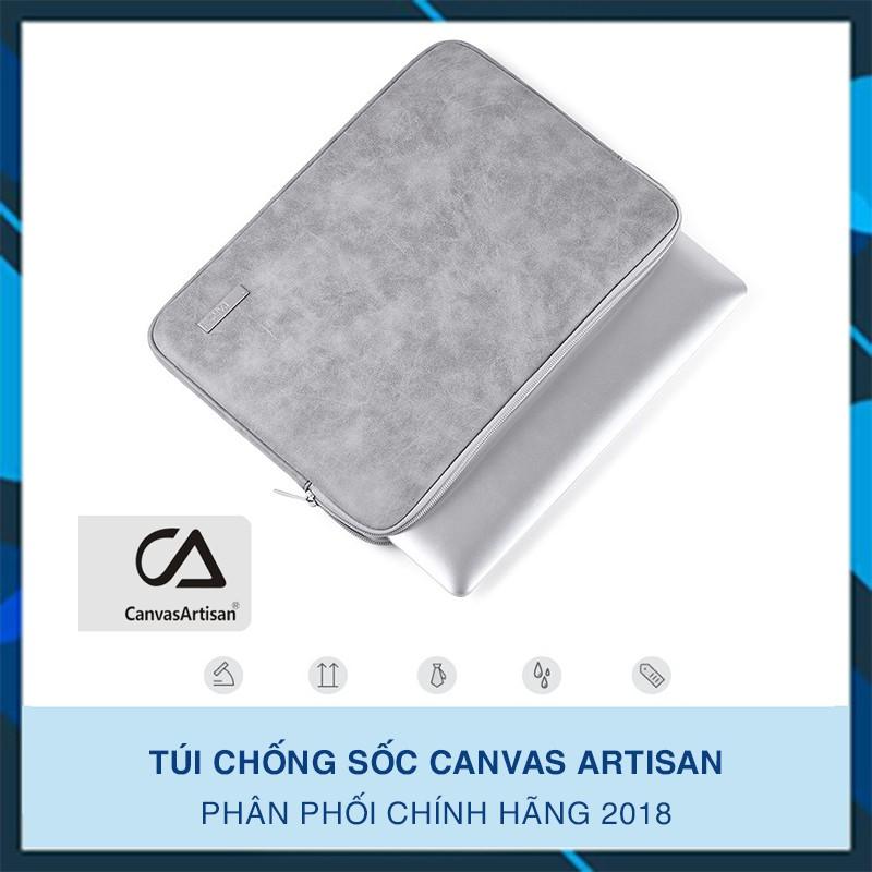 Túi chống sốc Macbook Laptop CanvasArtisan da sang chảnh (Chính hãng) - 2997979 , 1005348510 , 322_1005348510 , 270000 , Tui-chong-soc-Macbook-Laptop-CanvasArtisan-da-sang-chanh-Chinh-hang-322_1005348510 , shopee.vn , Túi chống sốc Macbook Laptop CanvasArtisan da sang chảnh (Chính hãng)