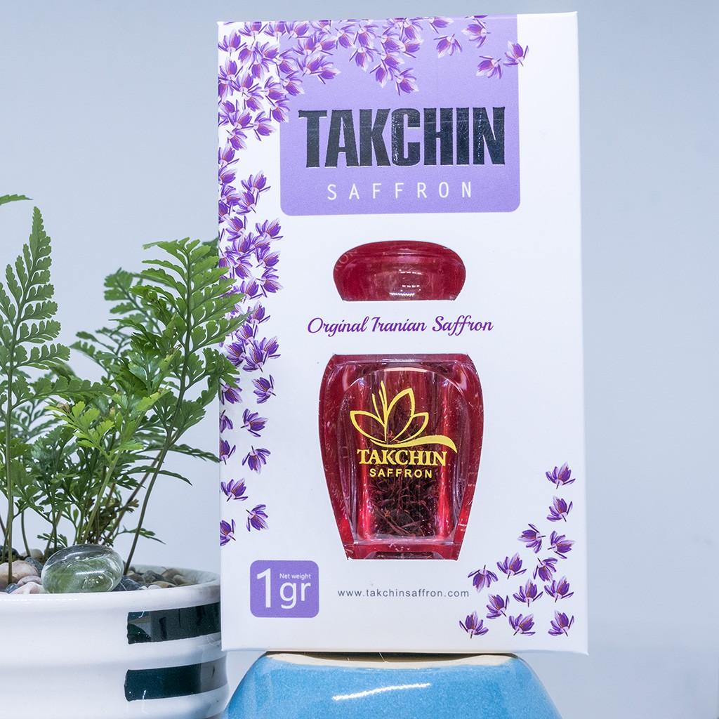Saffaron Takchin - nhụy hoa nghệ tây - Chính Hãng Iran trọng lượng 1g