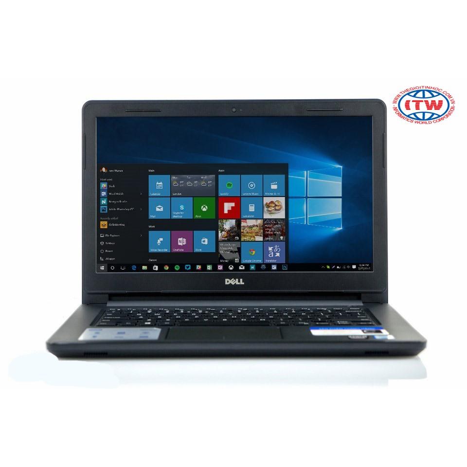 Laptop Dell Inspiron N3467 i5-7200U (Đen) - Tặng kèm túi NB Dell