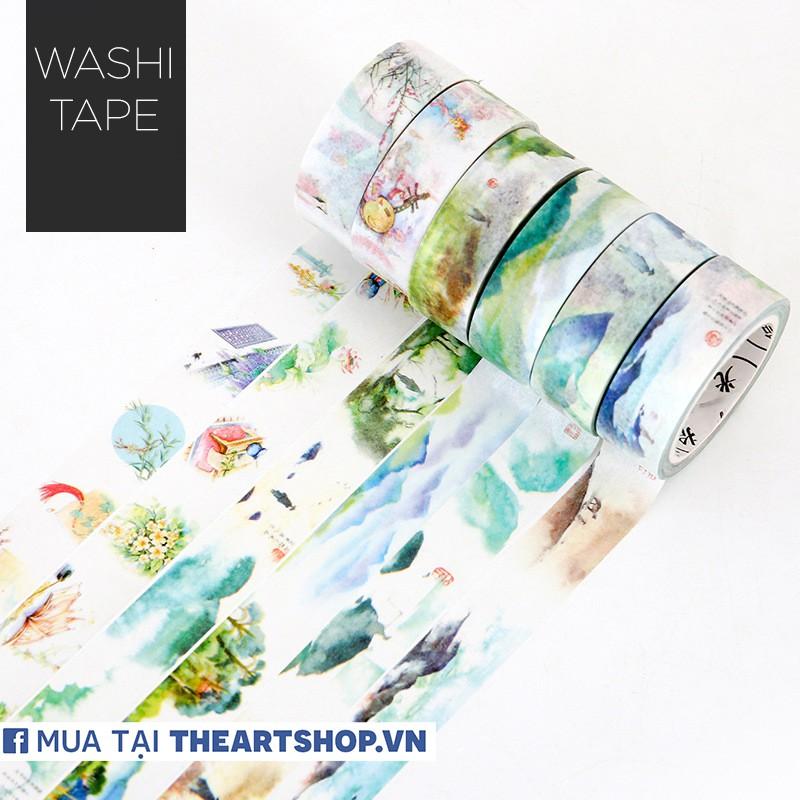Washi Tape chủ đề PHONG CẢNH