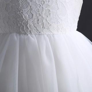Đầm ren công chúa dành cho bé gái