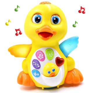Kids Toy Dancing Musical Duck Toy for 1 Year Old Boys & Girls Gifts with Lights