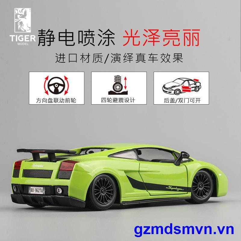 LAMBORGHINI Mô Hình Xe Hơi Lamborghini Galado Lp570-4 Tỉ Lệ 1: 24