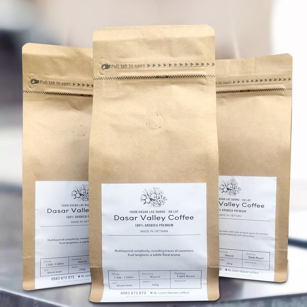 Arabica (Rang Xay/Nguyên Hạt) Dasar Valley Coffee - 250gr