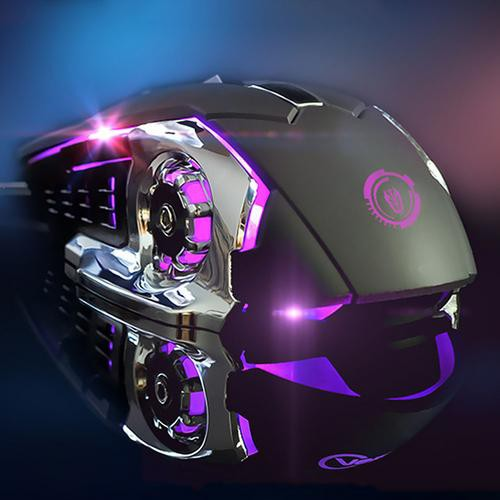 Laptop Desktop Computer Usb Wired Mouse Weighted Gaming Luminous Mouse Four-Color Breathing Light Giá chỉ 257.351₫
