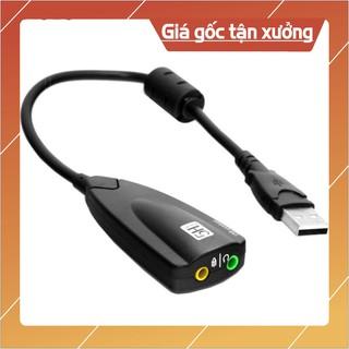 [Mã ELORDER5 giảm 10K đơn 20K] hot Cáp Nối USB Ra Sound Virtual 7.1 5HV2 Surround Sound Cho Máy Tính