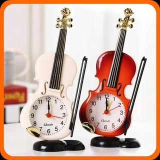 Đồng hồ để bàn cây đàn nghệ thuật, trang trí siêu đẹp - Món quà ý nghĩa cho người thân yêu