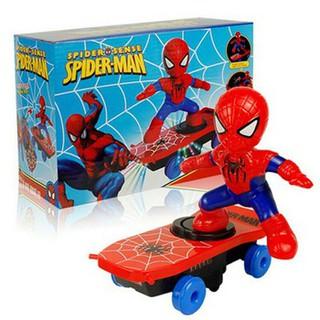 Người nhện spaider men lướt ván trượt