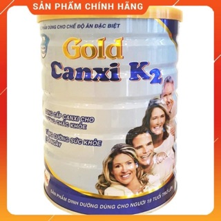SỮA CANXI – GOLD CANXI K2 BỔ SUNG CANXI