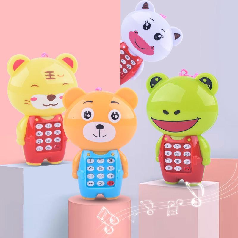 điện thoại đồ chơi phát nhạc hình động vật cho bé
