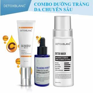 Combo dưỡng trắng da chuyên sâu Detoxblanc Detox Blanc thumbnail