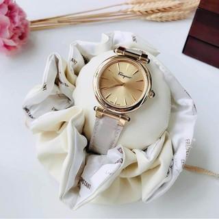 Đồng hồ nữ Salvatore Ferragamo Idillio dây da bạc, mặt gold Hàng Authentic - mã ĐH SFYP00220 thumbnail